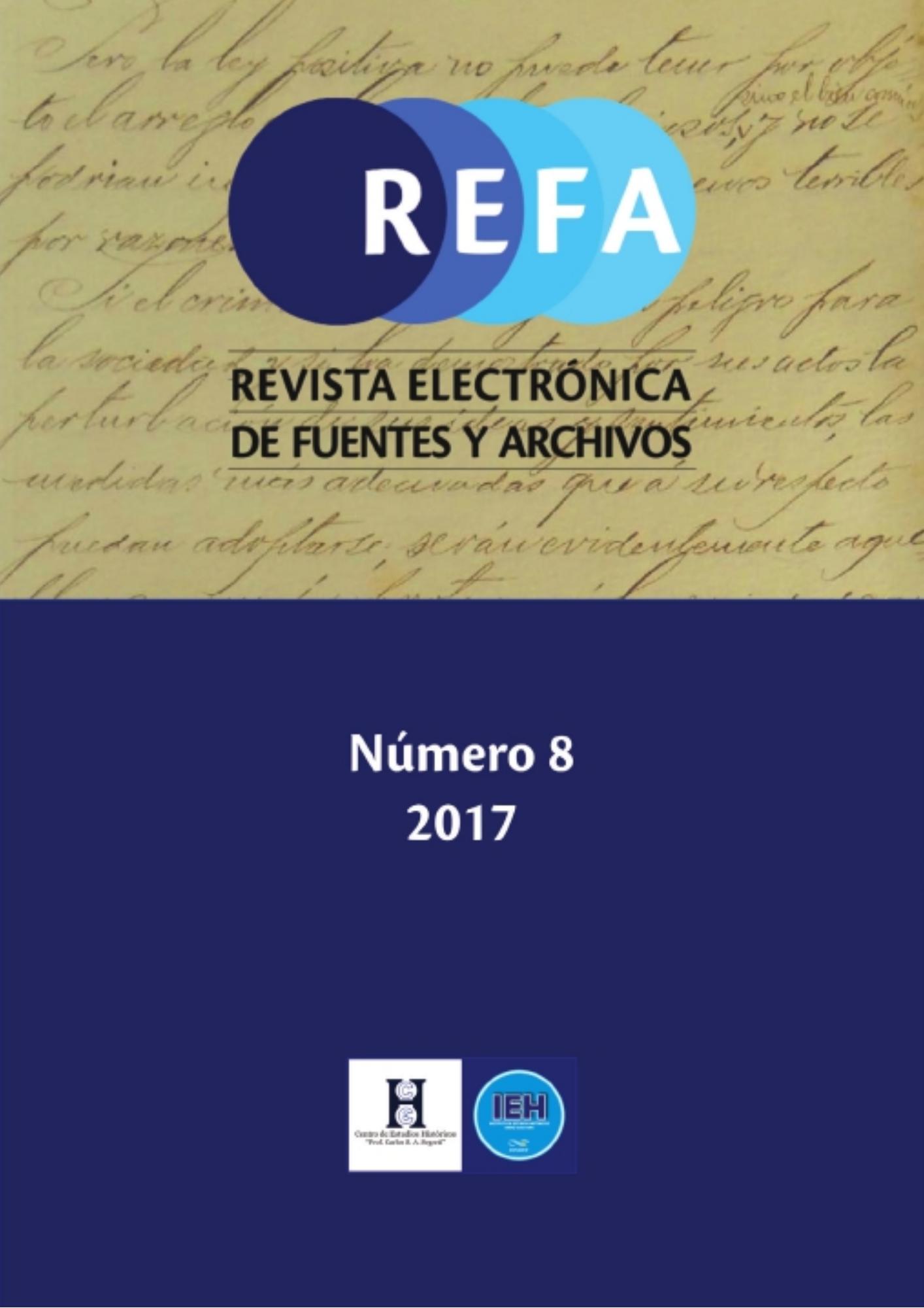 Ver Núm. 8 (2017)