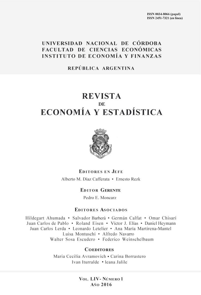 Revista de Economía y Estadística
