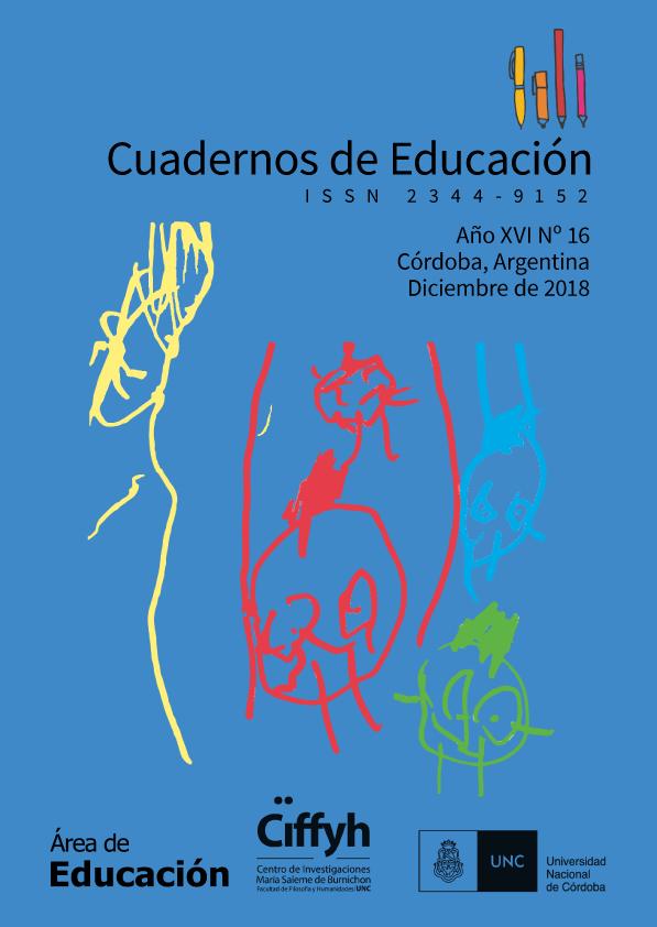 Tapa de Cuadernos de Educación Nº 16