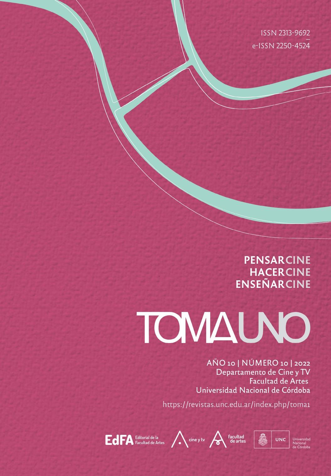 Tapa de la Revista Toma Uno, número 7, año 2019