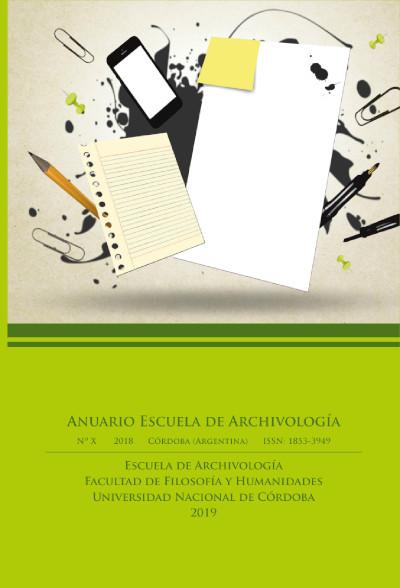 Ver Núm. 10 (2018): Anuario Escuela de Achivología