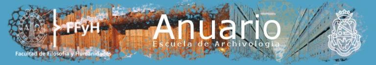 Anuario Escuela de Archivología