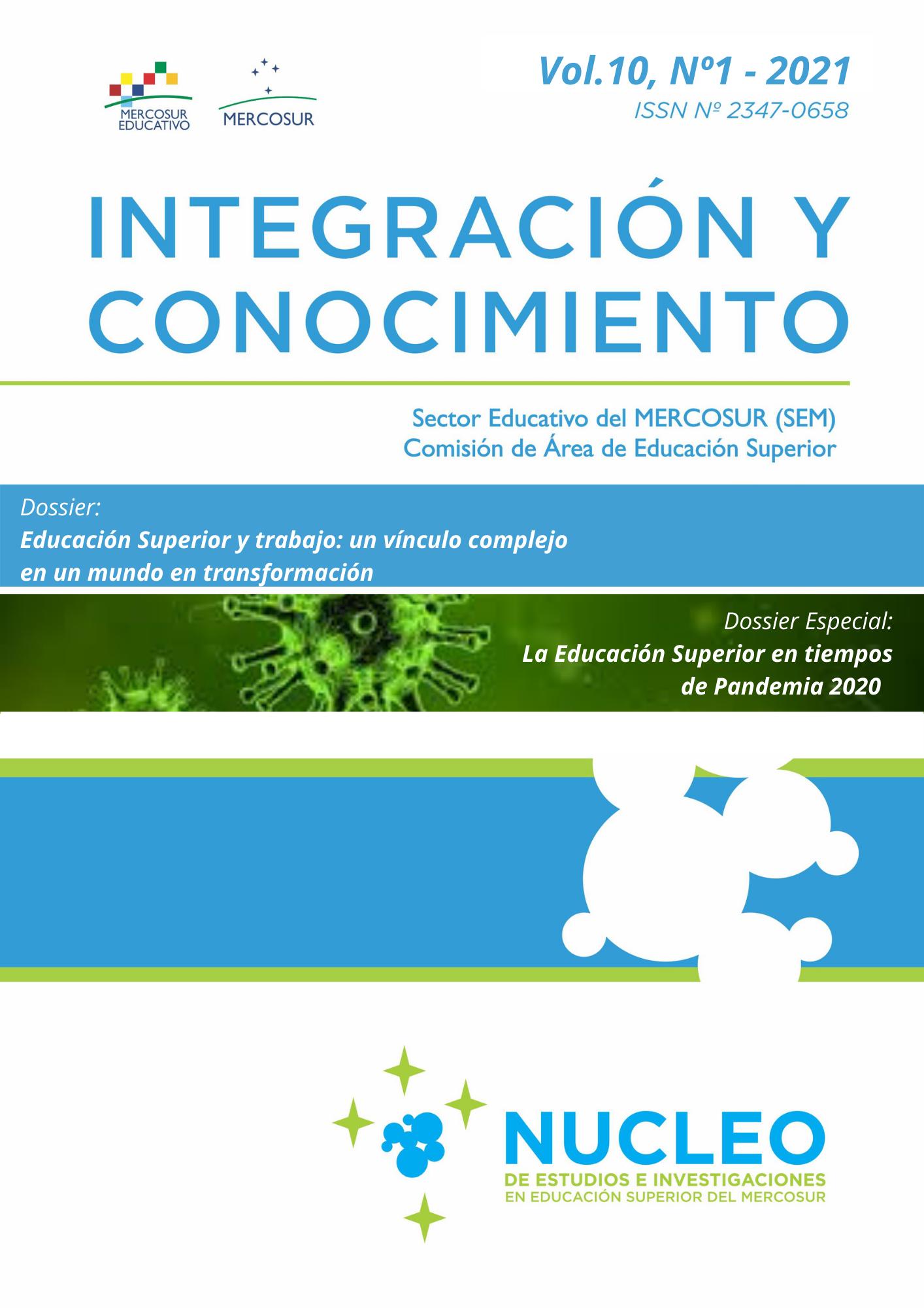 Ver Vol. 10 Núm. 1 (2021): Integración y Conocimiento