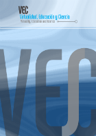 muestra el diseño gráfico para la tapa de la revista VEsC