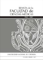 Se visualiza la portada de la Revista de la Facultad de Ciencias Médicas