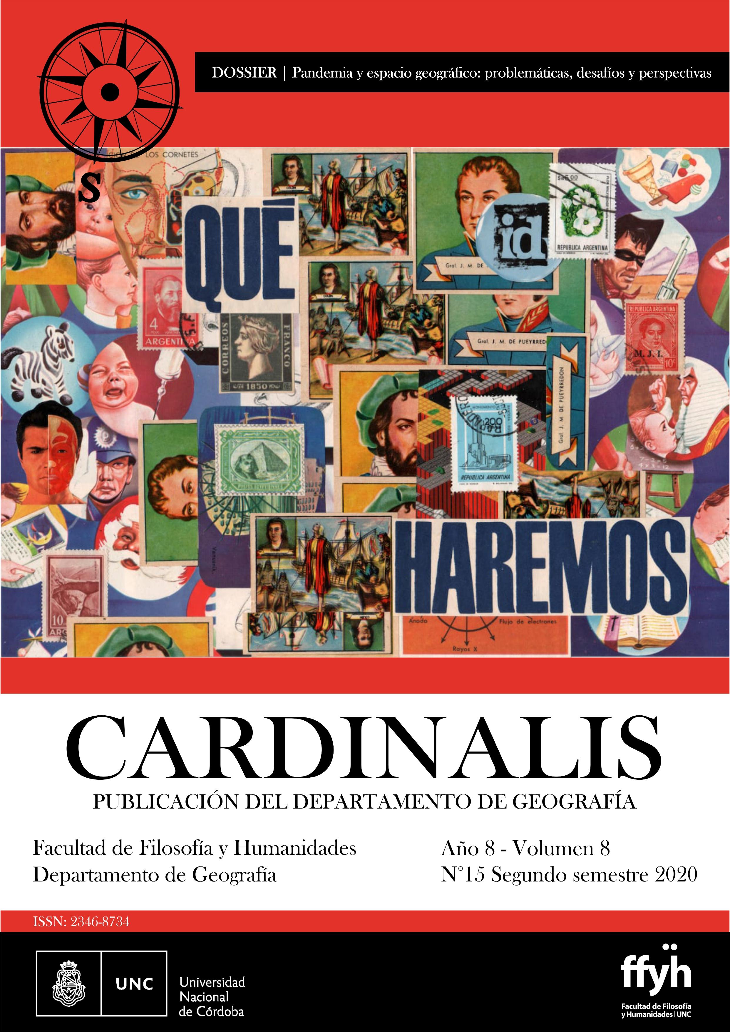 Diseño de tapa: Nadia Finck. Imagen Qué Hacemos: Vicente Girardi Callafa. Técnica: collage manual-digital (2020)
