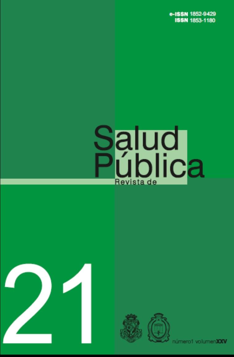 Ver Vol. 25 Núm. 1 (2021): Revista de Salud Pública
