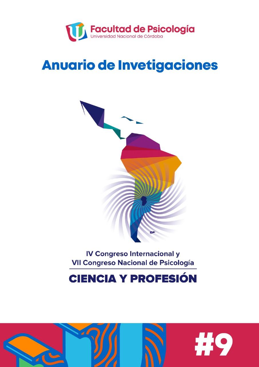 """Ver Vol. 5 Núm. 9 (2020): IV Congreso Internacional de Psicología """"CIENCIA Y PROFESIÓN"""": Desafíos para la construcción de una psicología regional."""