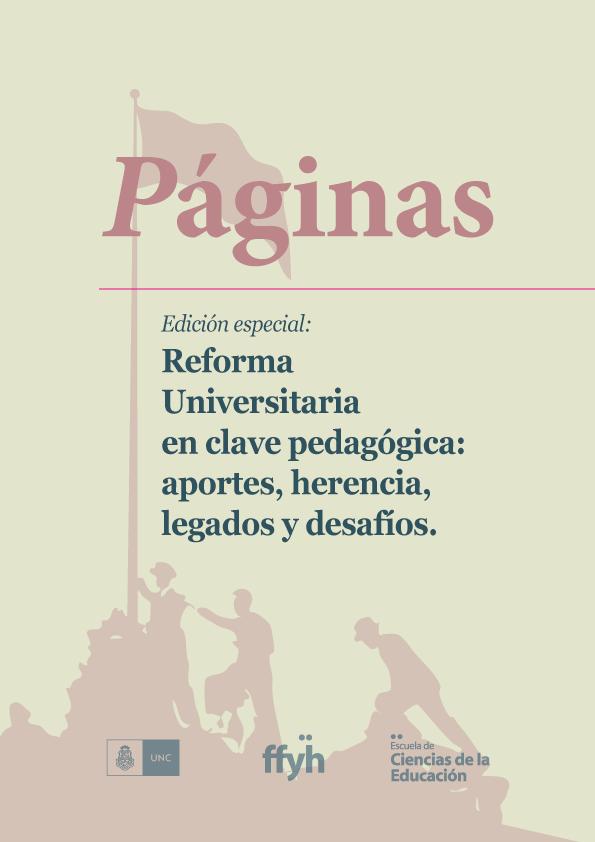 Ver Núm. 9 (13): Octubre 2018: Reforma universitaria en clave pedagógica