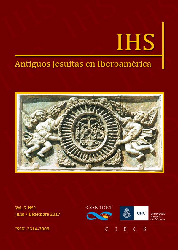 Revista IHS Antiguos Jesuitas en Iberoamérica