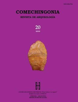 Comechingonia. Revista de Arqueología 20, 1