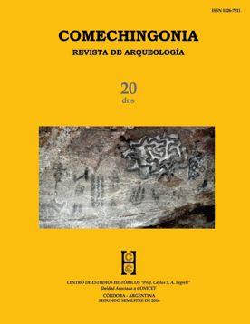Comechingonia. Revista de Arqueología 20, 2